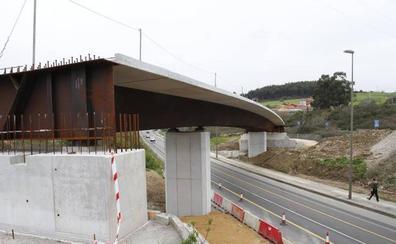 El acceso a Avilés desde la autovía se corta mañana por obras