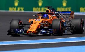 Hamilton, el más rápido durante todo el viernes y Alonso, en octava posición