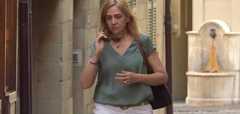 Primeras imágenes de la Infanta Cristina tras la entrada en prisión de Iñaki Urdangarin