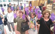 Concentración contra la libertad provisional de 'La Manada' en Luarca