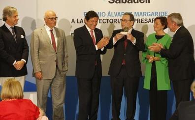 García Vallina recibe «con orgullo» el premio a un empresario «ejemplar»