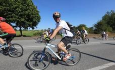 La Fiesta de la Bicicleta de Avilés recorre diez kilómetros