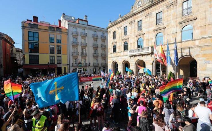 Gijón celebra el Día del Orgullo Gay