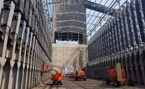 Arcelor paraliza las obras de las baterías de cok y envía al paro a 150 trabajadores