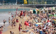 Asturias supera los treinta grados