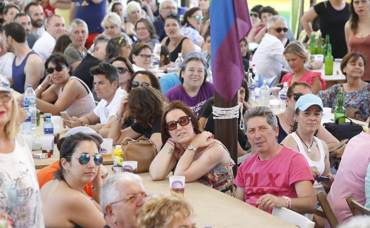 Fiesta del Orgullín del Norte, en el camping de Deva