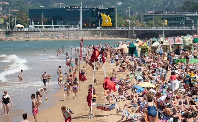 Asturias volverá a alcanzar los treinta grados antes de la llegada de las lluvias