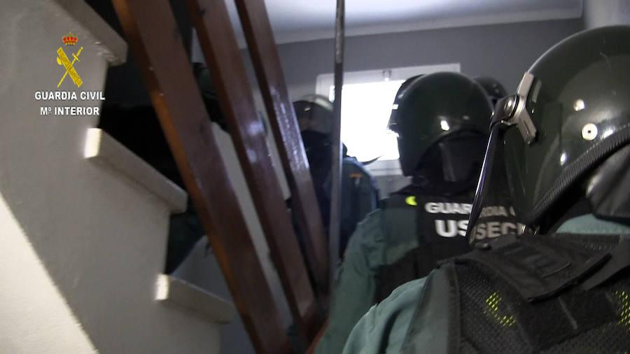 Detención de un joven por dar una paliza a un sargento de la Guardia Civil en Corvera
