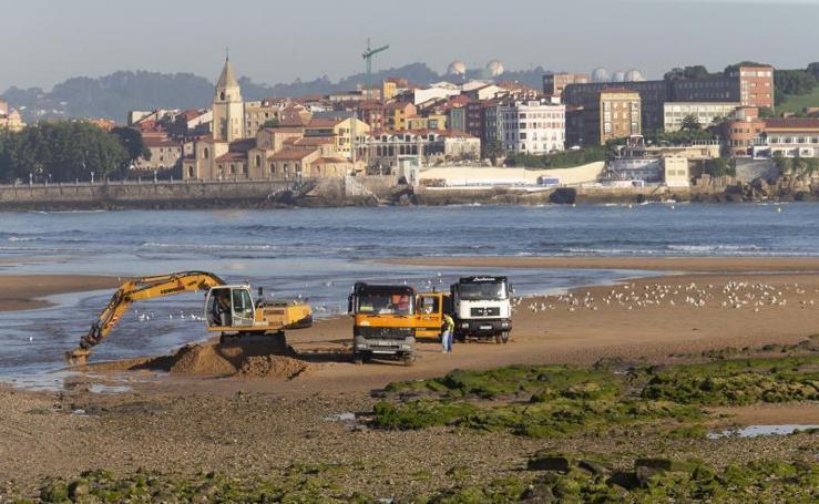 Trasvase de arena del Piles al Tostaderu