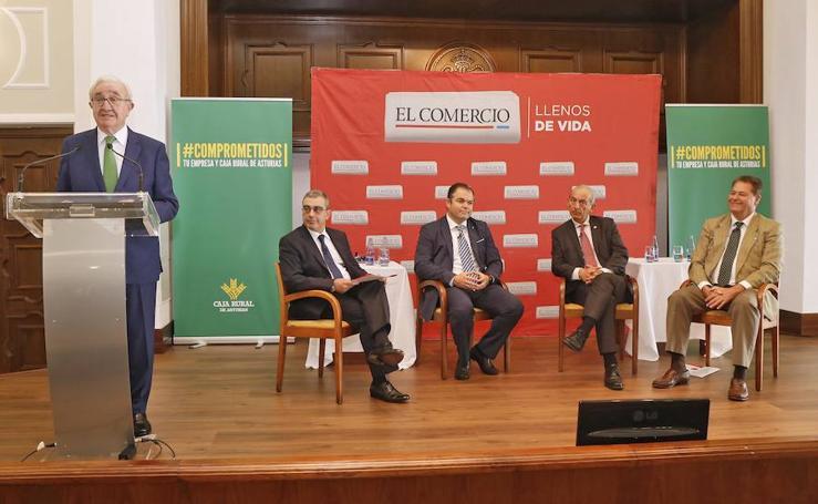 Encuentro de las Cámaras de Comercio de Asturias