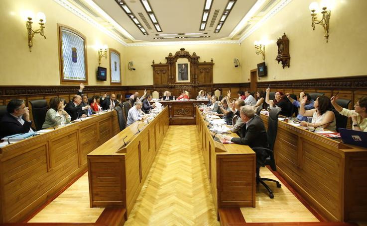 Pleno del Ayuntamiento de Gijón (27-06-2018)