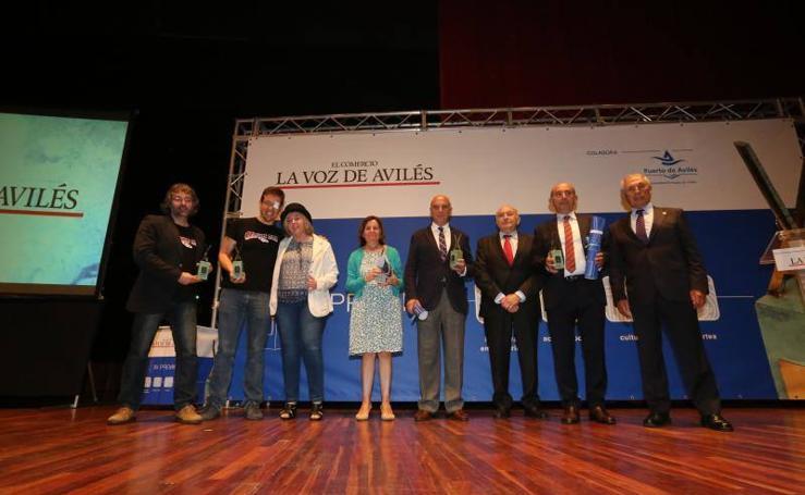 XV entrega de premios LA VOZ DE AVILÉS