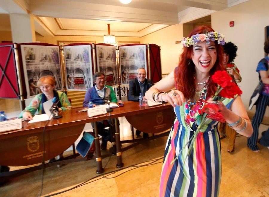 Presentación de las visitas teatralizadas al Teatro Campoamor de Oviedo