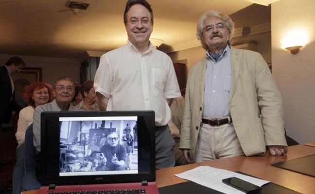 Homenaje a Orlando Pelayo, «modernidad pictórica de Asturias»