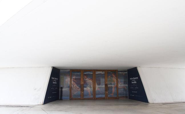 Sorolla flotará en la cúpula del Niemeyer