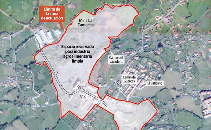 Plan General de Ordenación de Gijón: Mina La Camocha