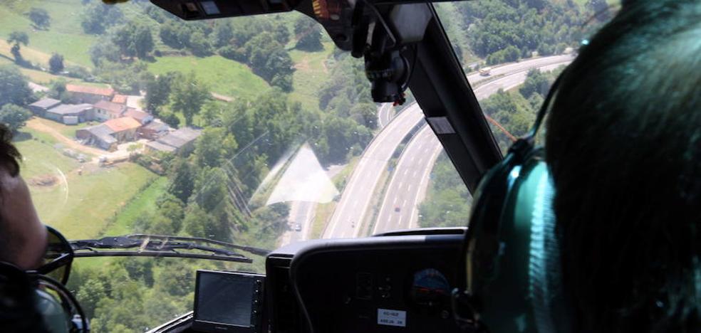 La DGT vigilará este verano Asturias con drones, helicópteros y radares portátiles