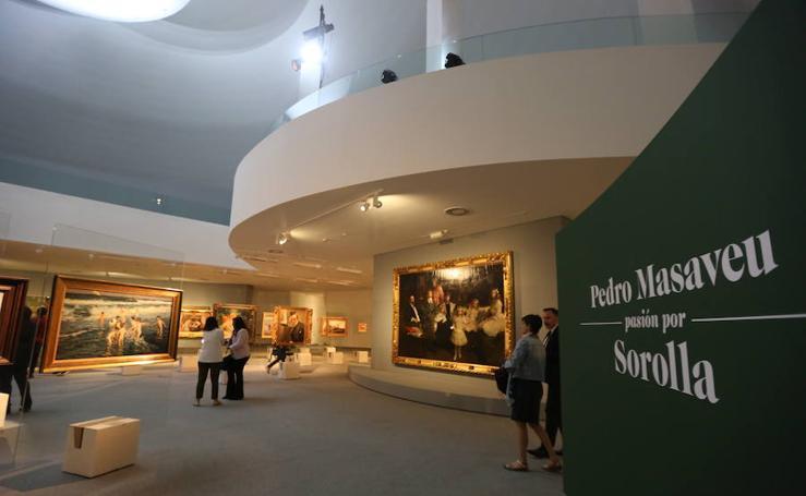 La obra de Sorolla, en el Niemeyer