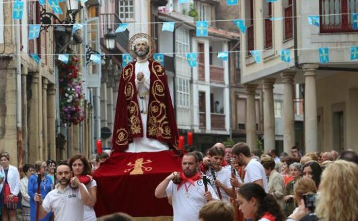 San Pedro se celebra en Rivero