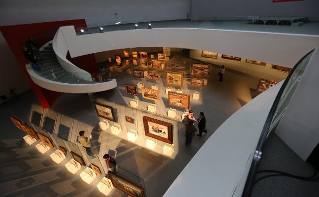 La luz de Sorolla deslumbra al Niemeyer