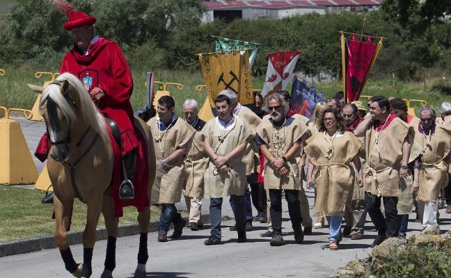 Llanera vuelve al medievo