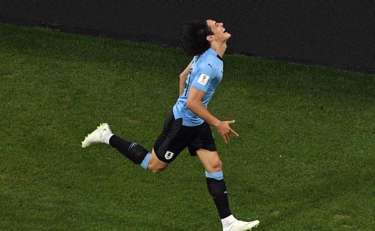 Uruguay-Portugal, en imágenes