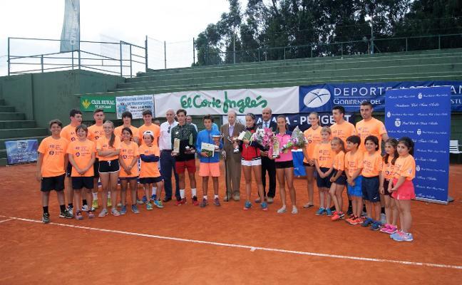 María Teresa Frías y Óscar Pinto ganan el XL Trofeo La Manzana