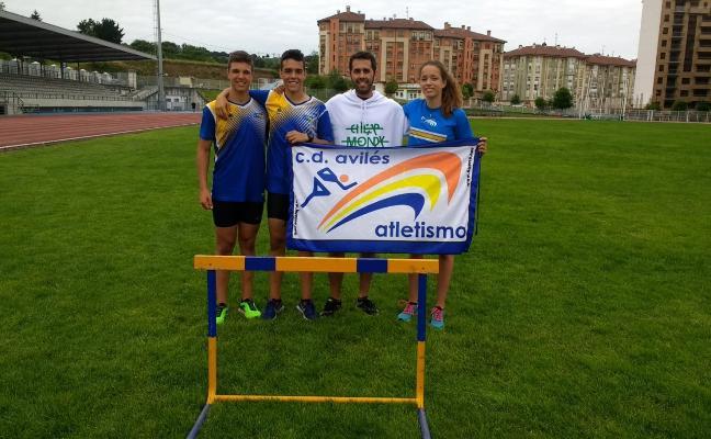 Cinco avilesinos en el campeonato de España cadete de Castellón