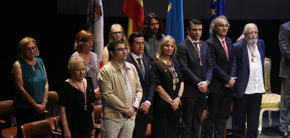 Moriyón: «Las medallas reafirman nuestros valores de tolerancia, respeto y pluralismo»
