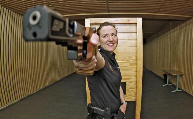 Sonia Franquet, una policía olímpica
