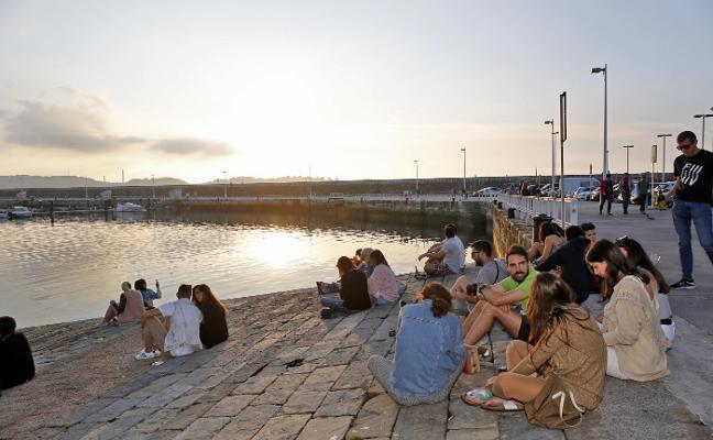 Asturias llega a julio con sol, lluvia, 716 rayos y aviso por tormentas