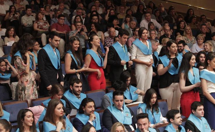 Graduación de los alumnos de Filosofía y Letras