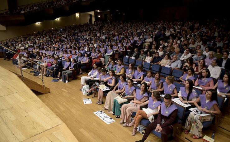 Graduación de los alumnos de Psicología