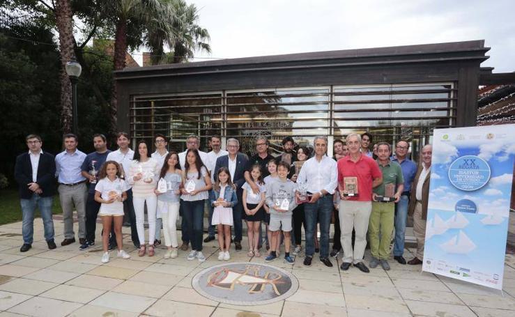 Entrega de premios Universidad de Oviedo en el Club de Regatas