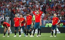 El drama de España ante Rusia, lo más visto de los últimos 6 años