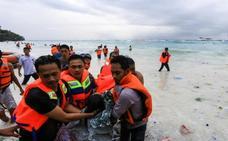Los muertos por el naufragio de Indonesa ascienden a 31
