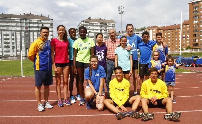 El Avilés Atletismo homenajea a Campanal