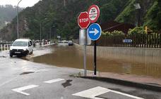 Las imágenes que dejan las inundaciones en Asturias