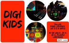 DigiKids. Taller con herramientas digitales