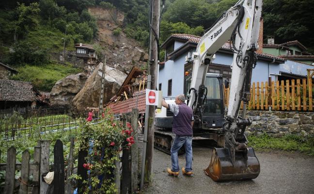 Comienzan las obras en el argayo de La Cortina, que durarán al menos tres meses