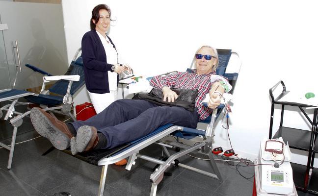 Las donaciones de sangre aumentan ligeramente en Castrillón