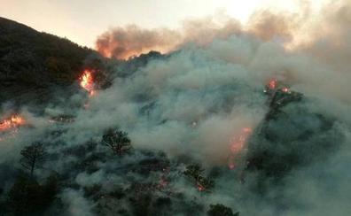 El número de incendios desciende un 61 por ciento en primer semestre del año