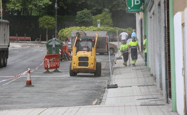 Veintiún calles de la ciudad serán asfaltadas hasta diciembre