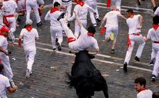 Un herido por asta de toro a pesar de la nobleza de los toros del Puerto de San Lorenzo