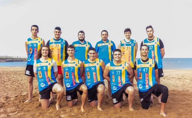 Asturias, en el nacional juvenil de playa con jugadores de Bosco y Luanco