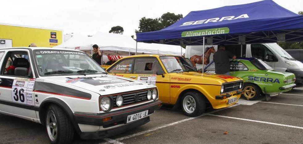 Serge Cazaux no da opción a la sorpresa en el Rallye de Avilés