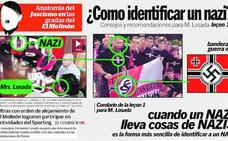 Un ultra denuncia a IU por publicar unos carteles en los que le llamaban «nazi»
