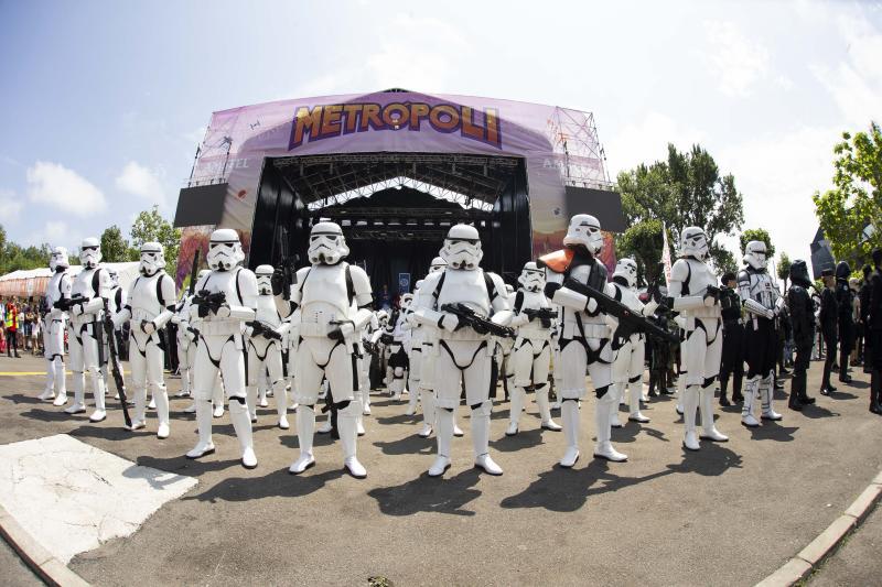 Gran desfile de 'Star Wars' para despedir Metrópoli
