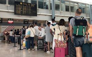 Malestar por la cancelación de un vuelo a Menorca