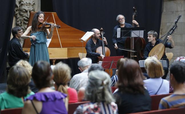 La música barroca reina en el verano gijonés